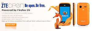 ZTE Open con Firefox OS esauriti su Ebay