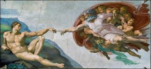 Miguel Ângelo Buonarotti – A Criação de Adão