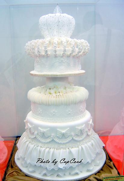 2010烘培展糖花蛋糕比賽