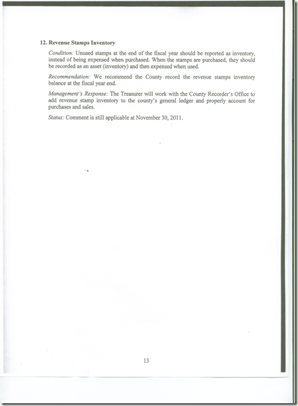 Management Letter 2011 CPA Audit 13
