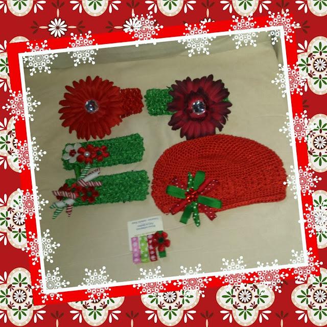 Irrésistibles accessoires pour les cheveux de Bébé Radieuses pour son premier Noël!