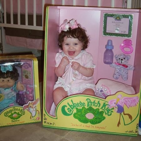 Bebé Cabbage Patch Kid 1