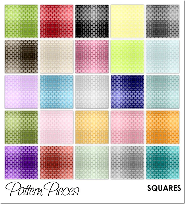 IMAGE - Pattern Pieces - Squares