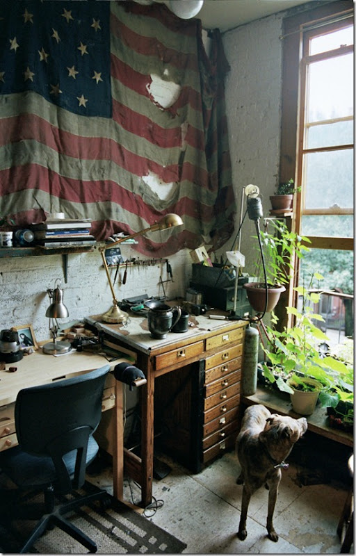 Aaron Ruff's Brooklyn Studio