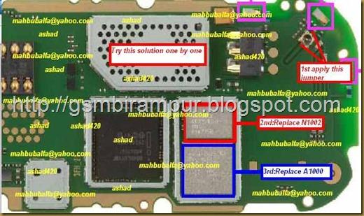 nokia 2690 no network solution