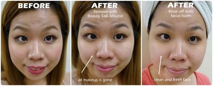 Beauty Talk OxySolution Mousse review