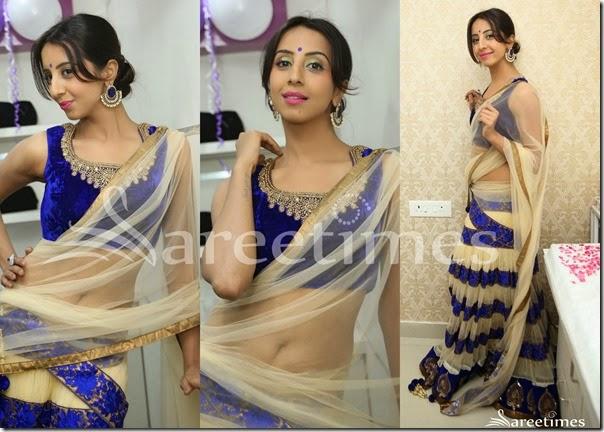 Sanjana_Cream_Net_Half_Saree(1)