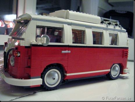 Kaross Sidan - Lego 10220 Volkswagen T1 Camper Van Bilder