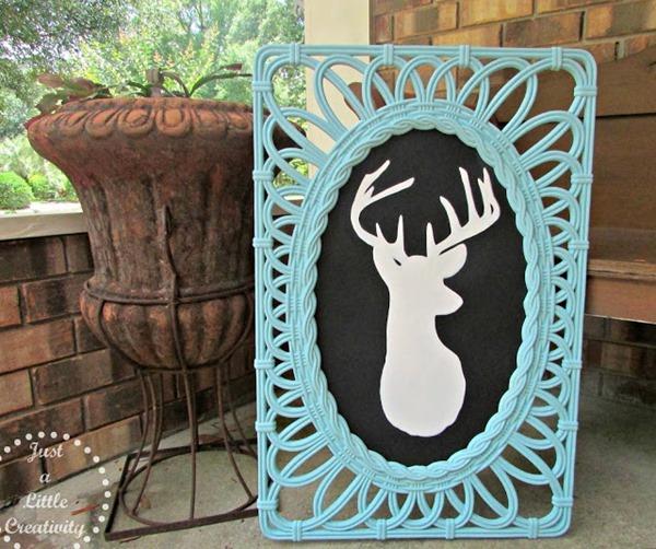 deer silhouette 1