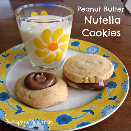 Peanut Butter Nutella Cookies 7