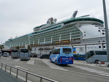 Croziera pe Mediterana: La revedere, Liberty of the Seas