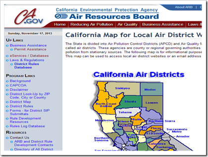 California Air Resources Board - Air Permitting