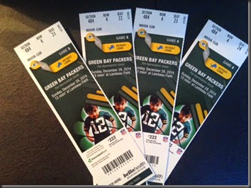 Packer Tickets