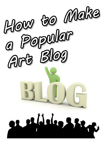 popular artist blog visitors