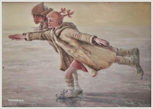 Комлев Эдуард Иванович (Россия, 1927) «Время, вперед!» 1978