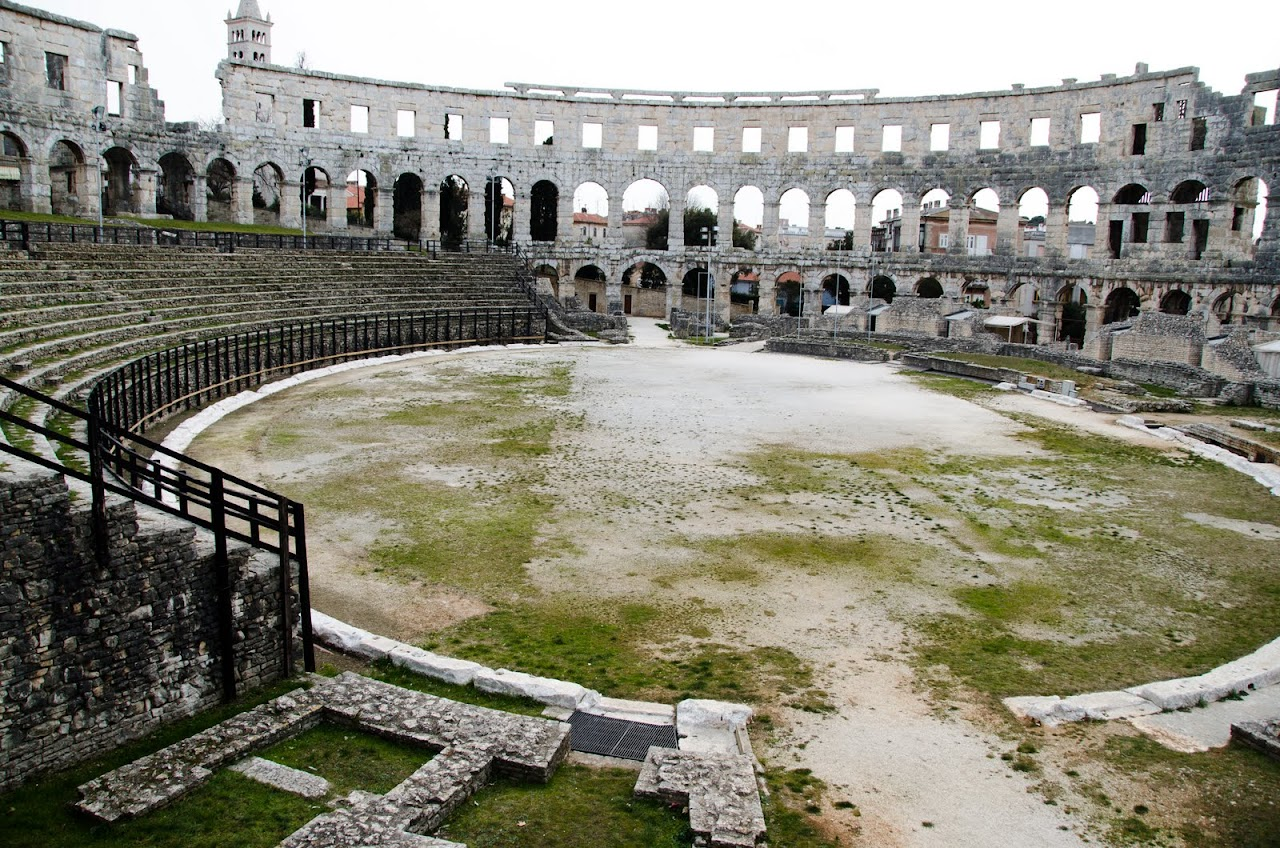 Roman Amphitheatre Pula