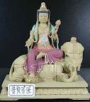 『九龍佛像藝品』-線上神明小百科-普賢菩薩-華嚴三聖