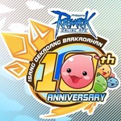 pRO 10th Anniversary Logo