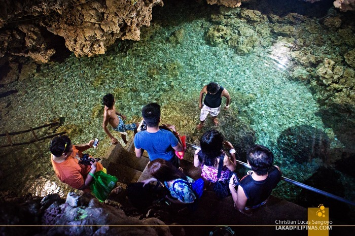 Bolinao's Wonderful Cave, Crowded by Bloggers