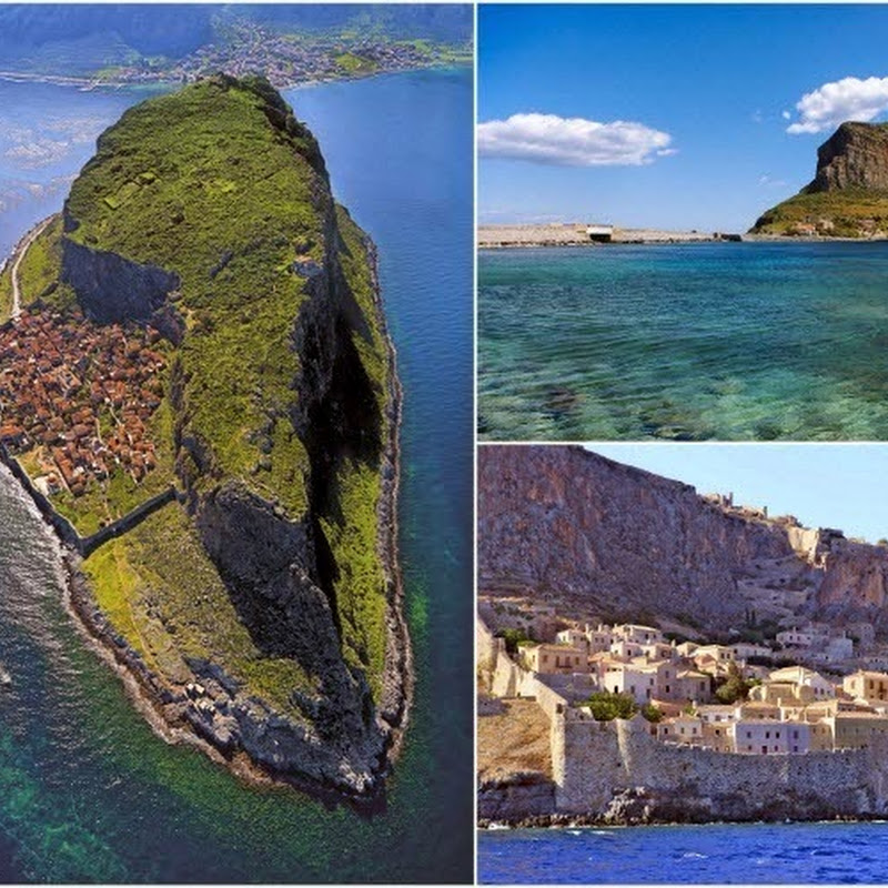 The Hidden Town of Monemvasia