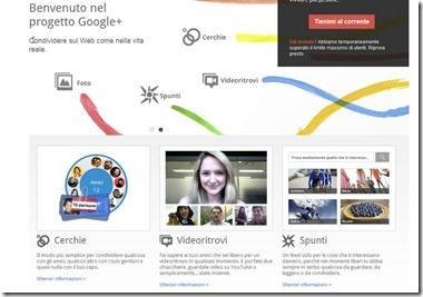 google   homepage presentazione
