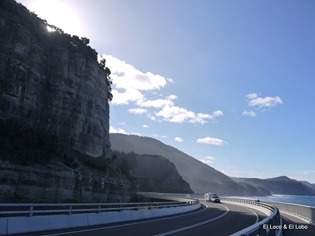 Sea Cliff Bridge, looking north to Stanwell Park