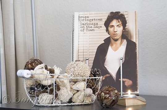 Fall Living Room Decoration Bruce Springsteen