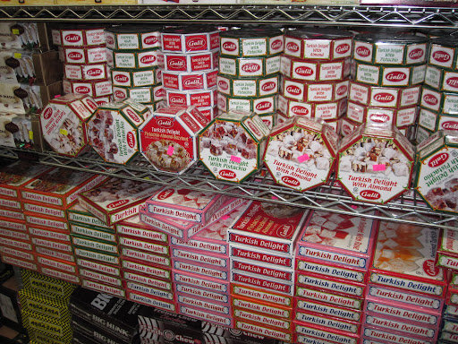 Turkish Delight came in many different flavors.