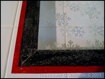 Snowflake Tray Corner