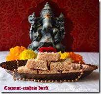 35 - Dairy free Coconut-Cashew Burfi