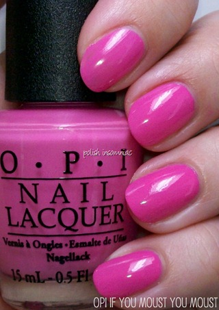 OPI If You Moust You Moust (Minnie Mouse collection)