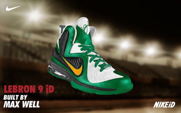 Nike LeBron 9 Available for Custom Builds at Nike iD Facebook
