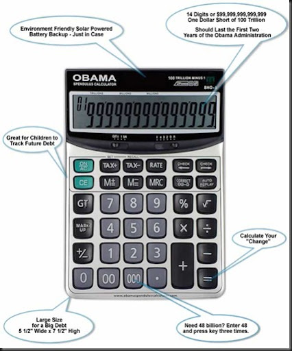 Obama debt calculator