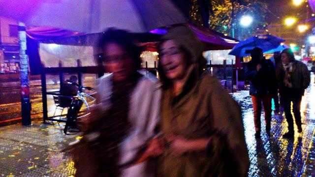lluvia, paraguas, Planeta humano