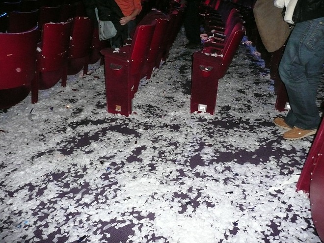 "В антракте ""Slava's Snow Show"""