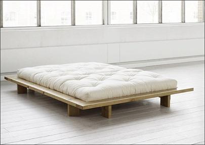 Area de muebles el fut n la cama japonesa - Base cama japonesa ...