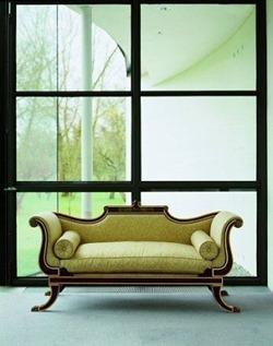 Arthur Brett - Regency style chaise longue