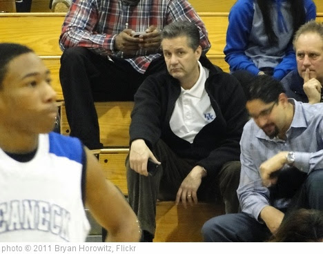'John Calipari' photo (c) 2011, Bryan Horowitz - license: https://creativecommons.org/licenses/by-sa/2.0/