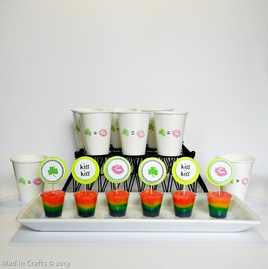 DIY Kiss Me I'm Irish Party Supplies