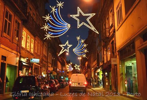 Glória Ishizaka - Luzes de Natal 2013 - Porto 1 Rua do Heroismo