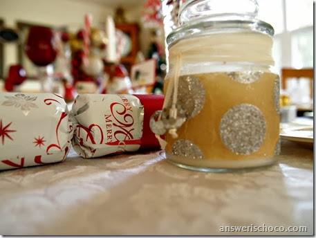 Tissue Papered Jar Candles