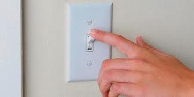 Interruptor que apaga todas as luzes da casa