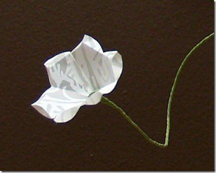 flores de papel 3 dia de la madre