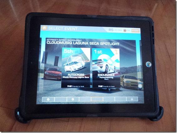 Otterbox iPad Reflex ipad watch view