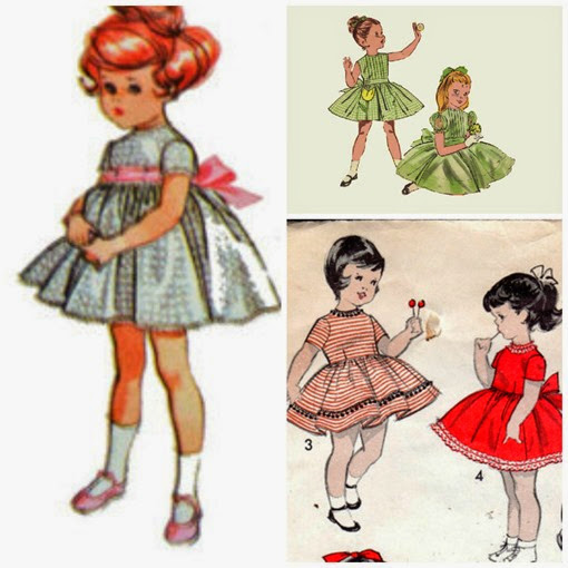 vintage girls dresses fashion inspiration