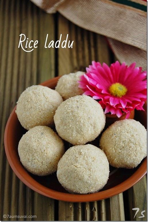 Rice laddu