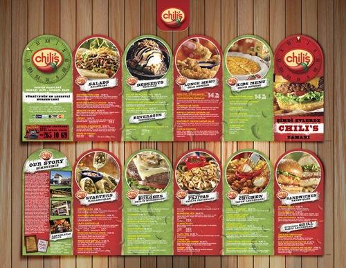 Restaurant Brochure Design Examples  Greatbrochures Of Brochure