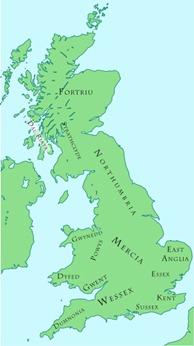 British Kingdoms c800