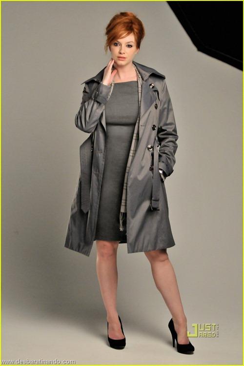 Christina Hendricks linda sensual sexy sedutora decote peito desbaratinando (69)