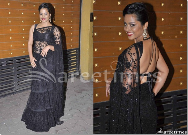 Shahana_Goswami_Black_Saree